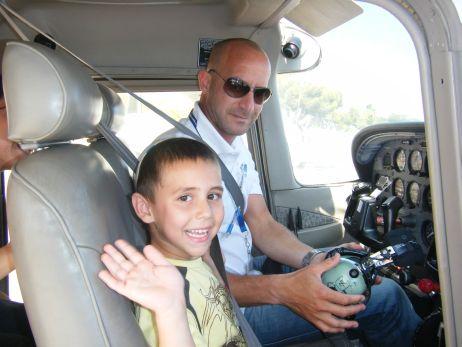 טיסות חוויה לילדים