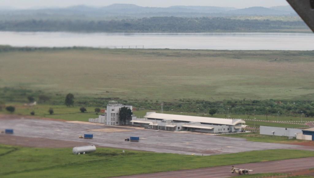 צילום אוויר של המסוף