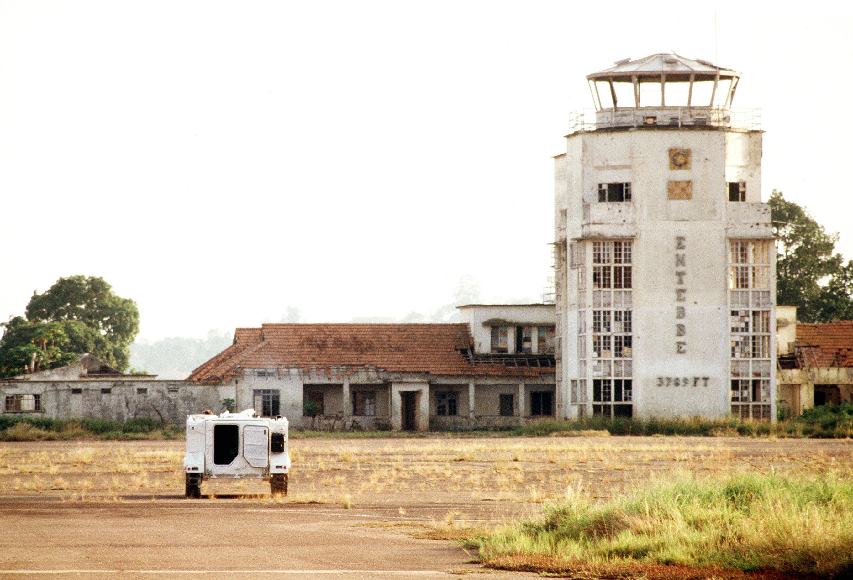 מגדל הפיקוח במבצע יונתן