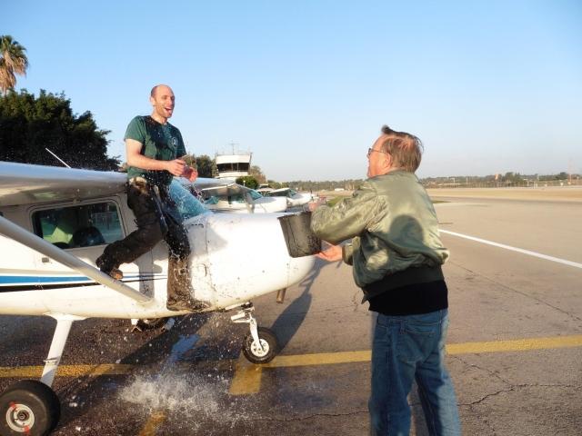 טיסת סולו בבית ספר לטיס אזרחי