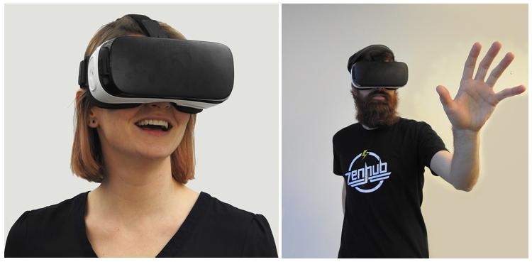 משקפי VR במטוסים
