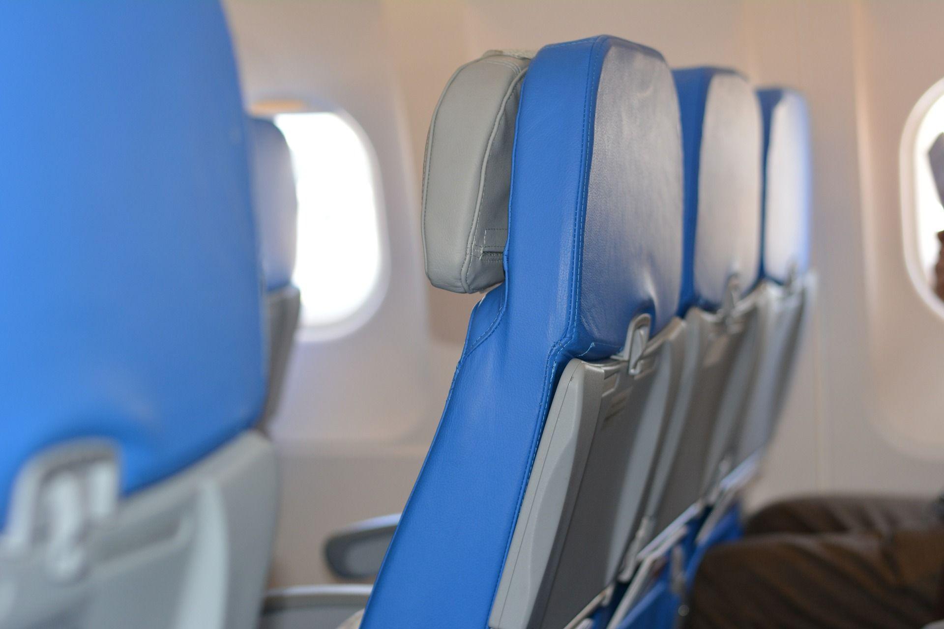 מושב טיסה אנכי נעול