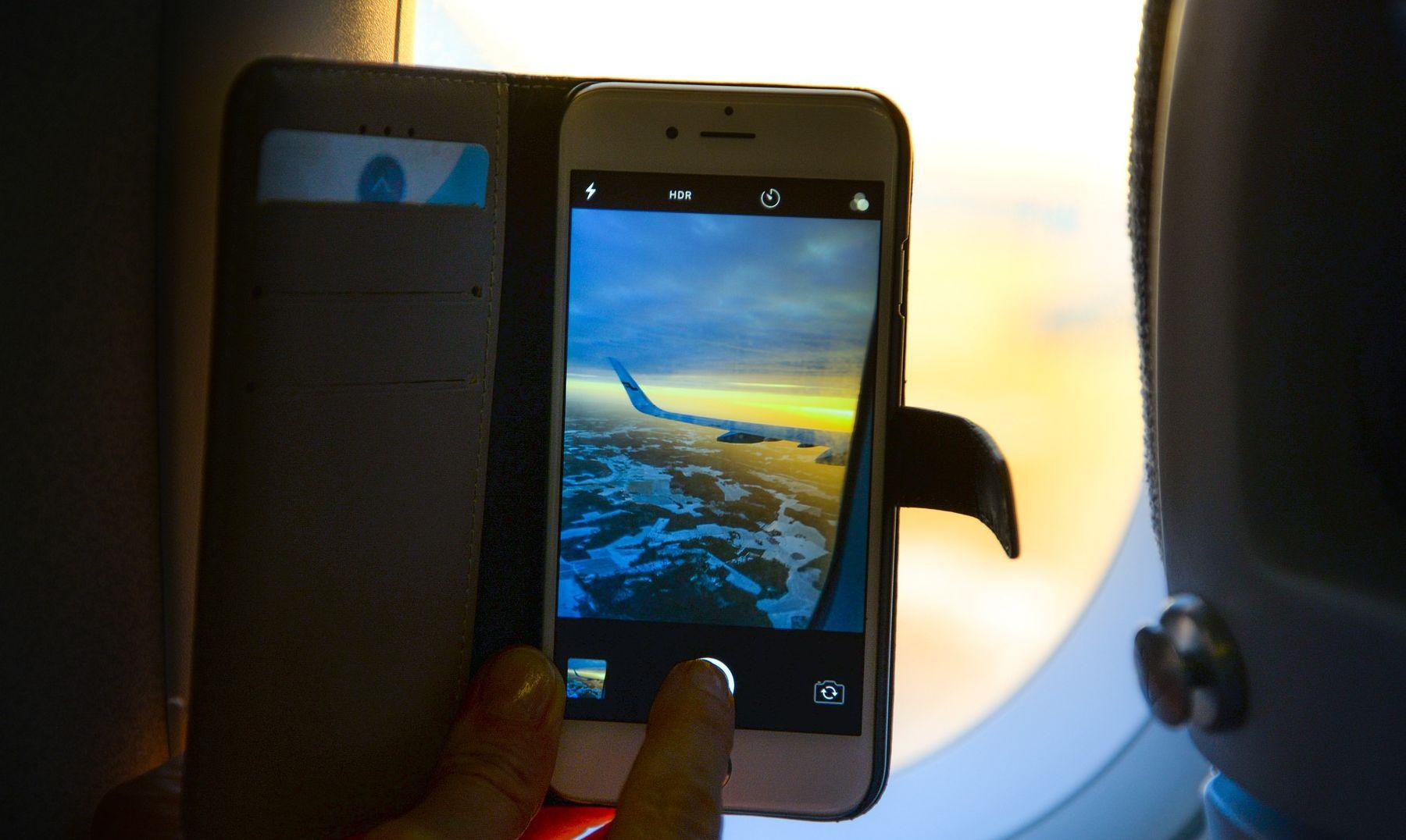 מכשירים במצב טיסה
