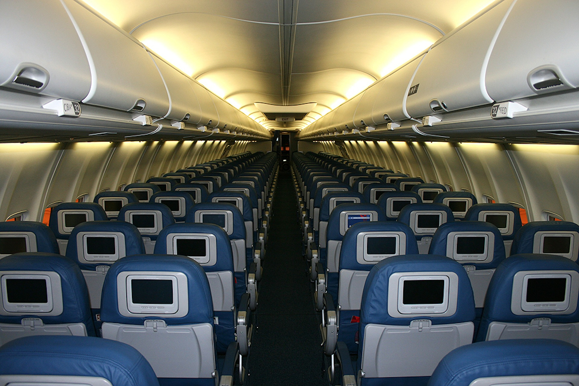 שינוי כיוון מושבי הנוסעים