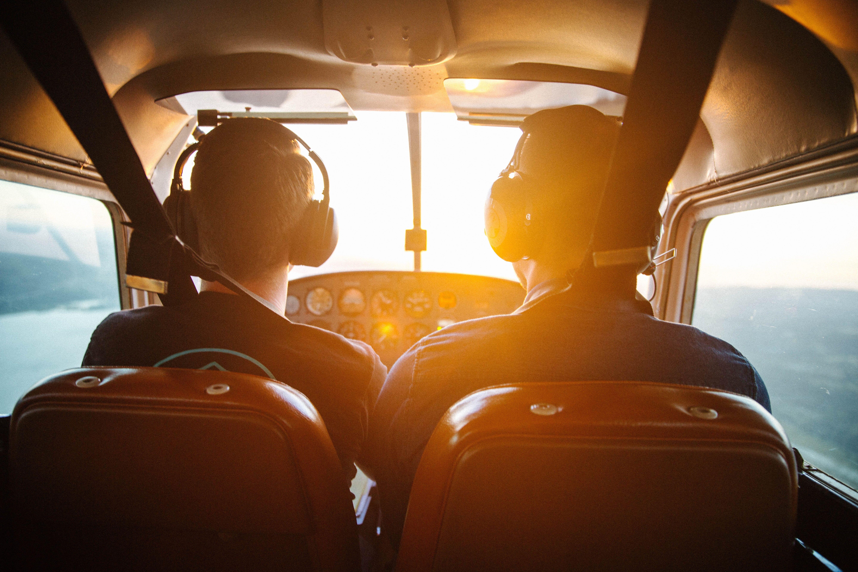 ראיון עם מדריך טיסה