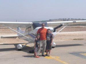 חוויית טיסה לילדים