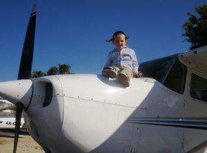 טיסות כייף לילדים
