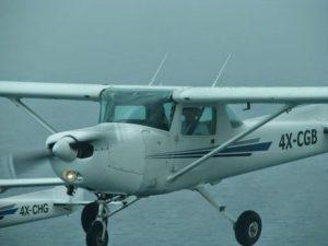 מטוס בטיסת ראווה ליום העצמאות