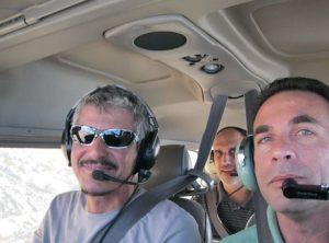 """מיכה ודני בטיסת ניווט מירשה מיוחד 500 מעפ""""ש"""