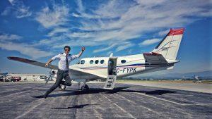 להיות טייס מסחרי