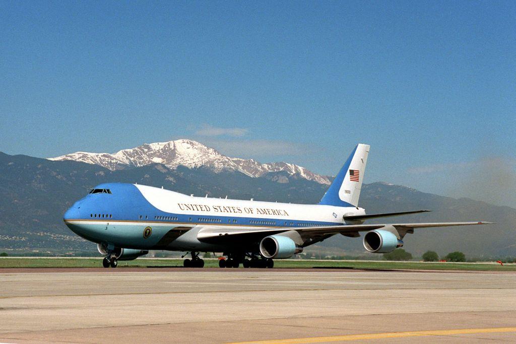 """מטוס נשיא ארה""""ב"""